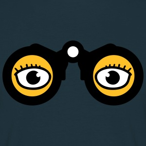 Magnifying Glass Eyes Camisetas - Camiseta hombre