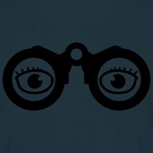 Magnifying Glass Eyes T-shirts - T-shirt herr