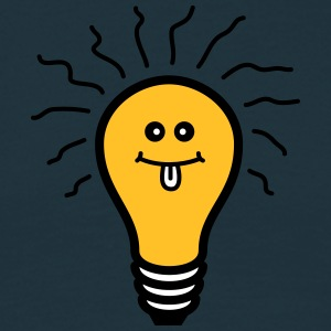 Genius Light Bulb T-shirts - T-shirt herr