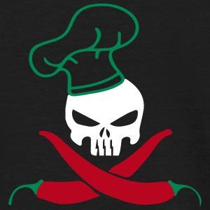 SKULL CHILLI T-shirts - Herre-T-shirt