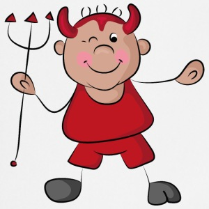 Naughty, cute little devil Fartuchy - Fartuch kuchenny