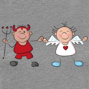 Angel and devil T-Shirts - Women's Premium T-Shirt