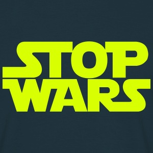 Stop Wars May the Peace Be With You T-Shirts - Men's T-Shirt