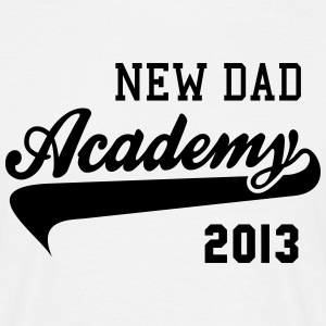 NEW DAD Academy 2013 T-Shirt BW - Herre-T-shirt