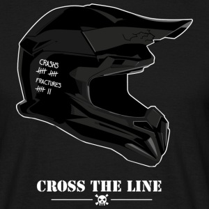 Cross the line - T-shirt Homme