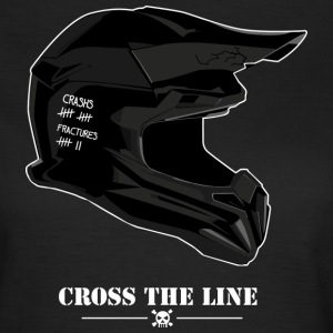 Cross the line - T-shirt Femme