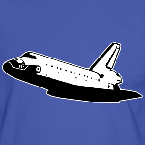 Space Shuttle (no emblems) T-Shirts - Men's Ringer Shirt