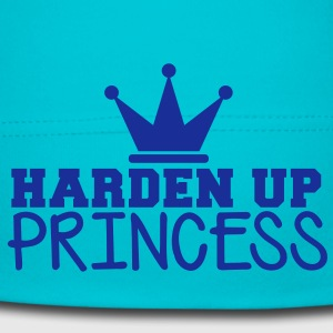 HARDEN UP PRINCESS with a royal crown Kids and Babies - Baby Cap