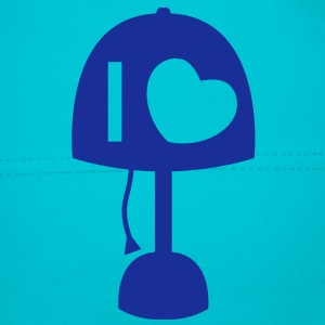 I LOVE LAMP with light and cord simple no words Kids and Babies - Baby Cap