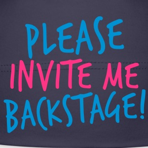 please invite me backstage! VIP CONCERT Tee Kids and Babies - Baby Cap