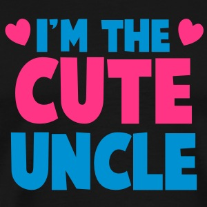 I'm the cute uncle! T-Shirts - Men's Premium T-Shirt