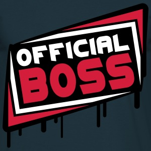 Official Boss T-shirts - Mannen T-shirt