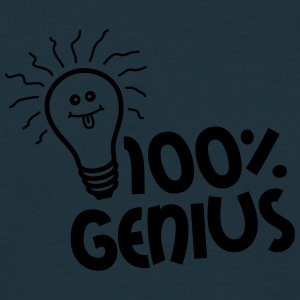 100 Procent Genius T-shirts - Herre-T-shirt