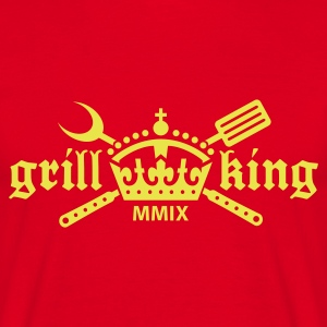 Grill King - Herre-T-shirt