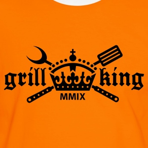Grill King - T-shirt contraste Homme