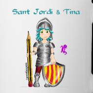 Diseño ~ Sant Jordi & Tina Taza