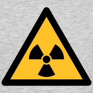 Hazard Symbol - Radioactivity (2-color) T-Shirts - Men's T-Shirt