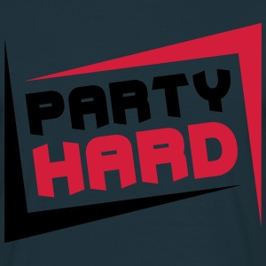 Party Hard T-shirts - Herre-T-shirt