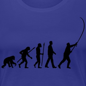 evolution_angler_042013_a_1c T-Shirts - Frauen Premium T-Shirt