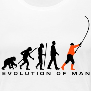 evolution_angler_042013_a_2c T-Shirts - Frauen Premium T-Shirt