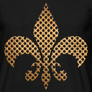gold royal symbol Tee shirts - T-shirt Homme