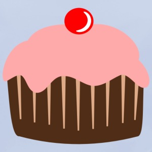Cupcake cake candy cherry Accessories - Baby Organic Bib