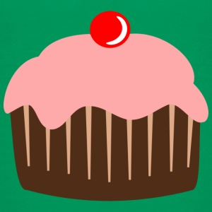 Cupcake cake candy cherry Shirts - Teenage Premium T-Shirt