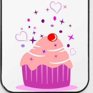 Sweet cupcake muffin cake with heart Other - iPhone 4/4s Hard Case