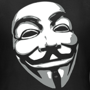 Anonymous Mask T-shirts - Dame-T-shirt