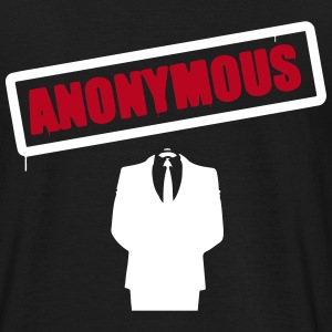 Anonymous T-shirts - Herre-T-shirt