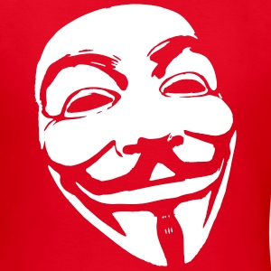 Anonymous Mask T-shirts - Vrouwen T-shirt