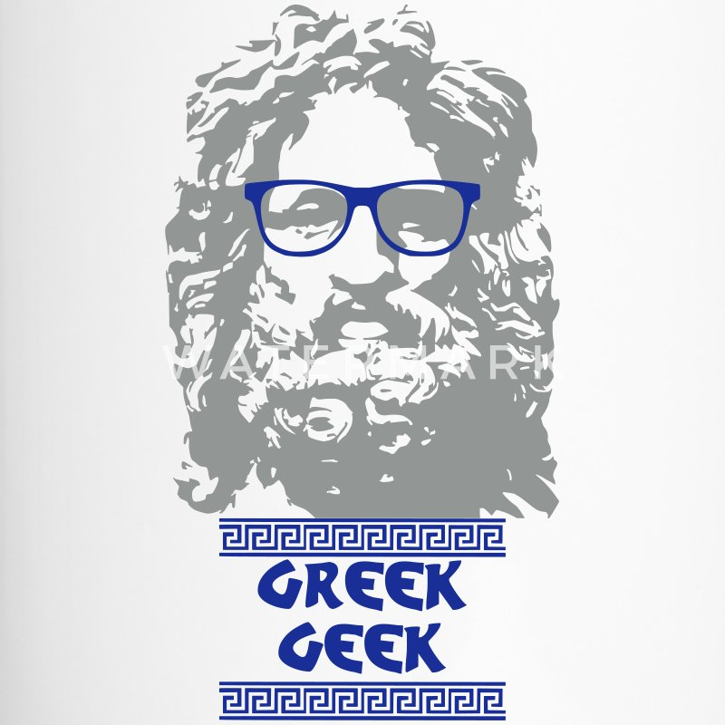 Greek Geek - Thermobecher
