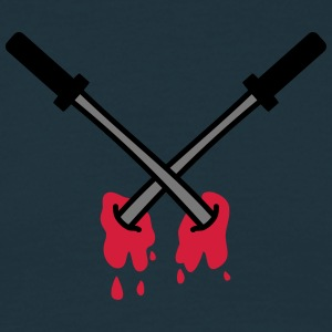 Sword Kill T-shirts - Mannen T-shirt