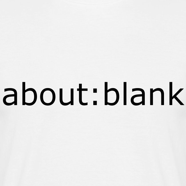about:blank wit standaard