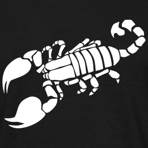 skorpion T-shirts - Herre-T-shirt