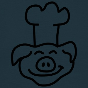 Pig Chef Head Tee shirts - T-shirt Homme