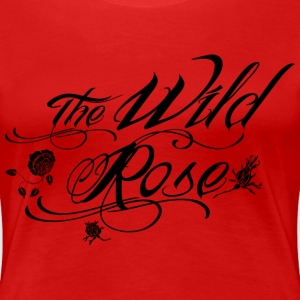 the wild rose T-Shirts - Frauen Premium T-Shirt