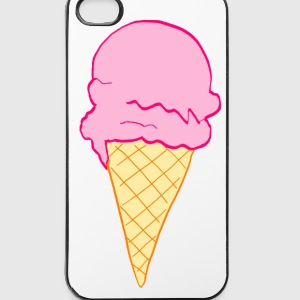 ice cream glace Autres - Coque rigide iPhone 4/4s