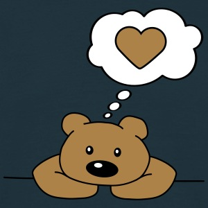 Lonely Bear T-shirts - T-shirt herr