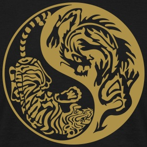 Tiger and Dragon - Männer T-Shirt