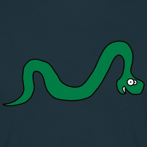 Funny Snake T-shirts - Herre-T-shirt