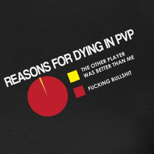 Reasons for Dying in PVP - Women's T-Shirt