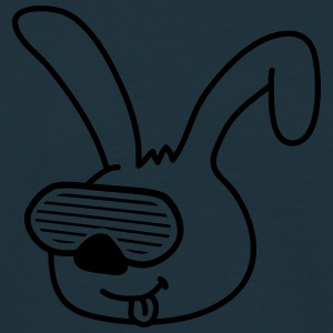 Funky Bunny Head T-Shirts - Men's T-Shirt