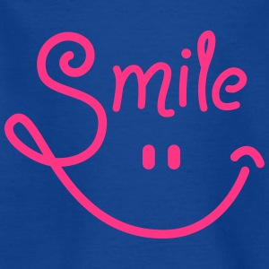smile - smiley - smiling - lachen - Lachgesicht-1C T-Shirts - Teenager T-Shirt