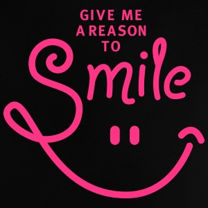smile - smiley - lachen - a reason to smile - 1C T-Shirts - Baby T-Shirt