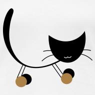 Design ~ Ladies T with funny cat