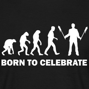born to celebrate T-Shirts - Männer T-Shirt