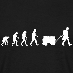 vatertag evolution T-Shirts - Männer T-Shirt
