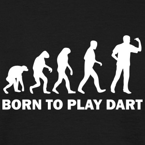 born to play dart T-Shirts - Männer T-Shirt