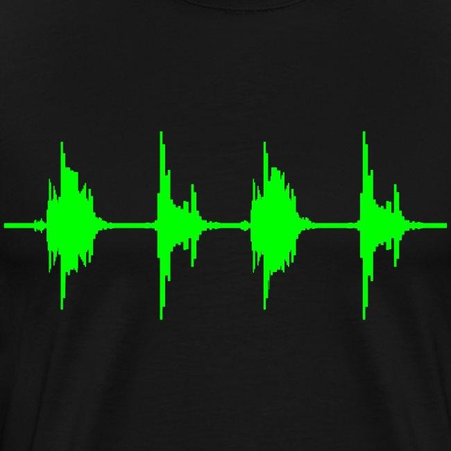 Equalizer T-Shirt schwarz/neongrün